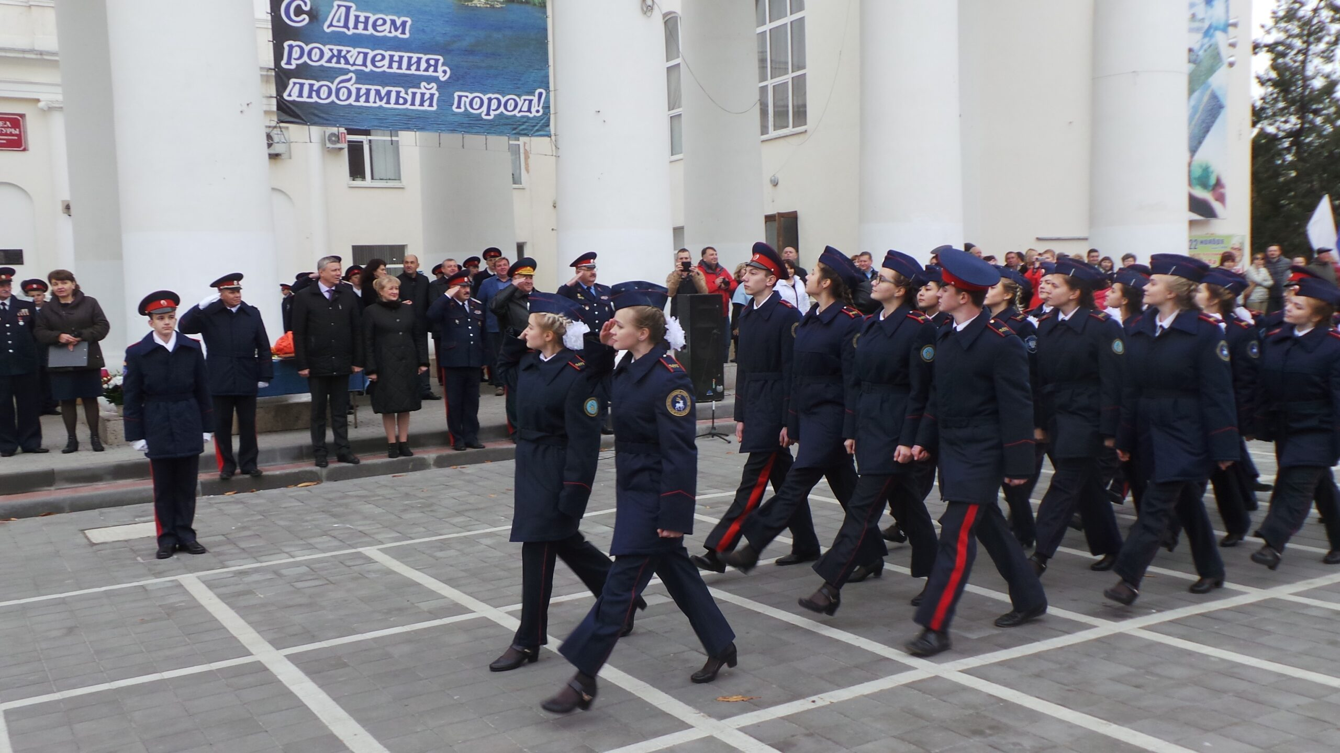 Белокалитвинскому кадетскому корпусу — 15 лет!