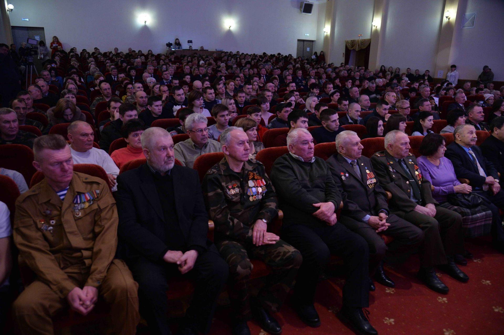 Ростовская АЭС: атомщики чествовали воинов-афганцев