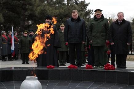 Василий Голубев: «Хранить память о защитниках Отечества – наш священный долг»