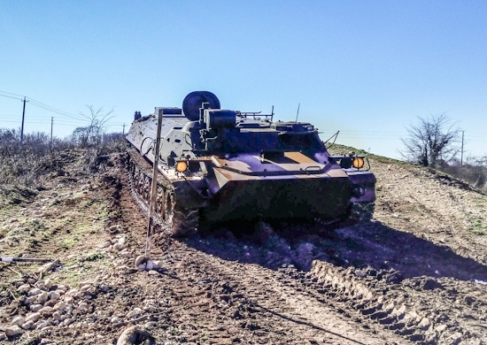 Подразделения противотанковых ракетных комплексов «Штурм-С» ЮВО провели боевые стрельбы в Ростовской области