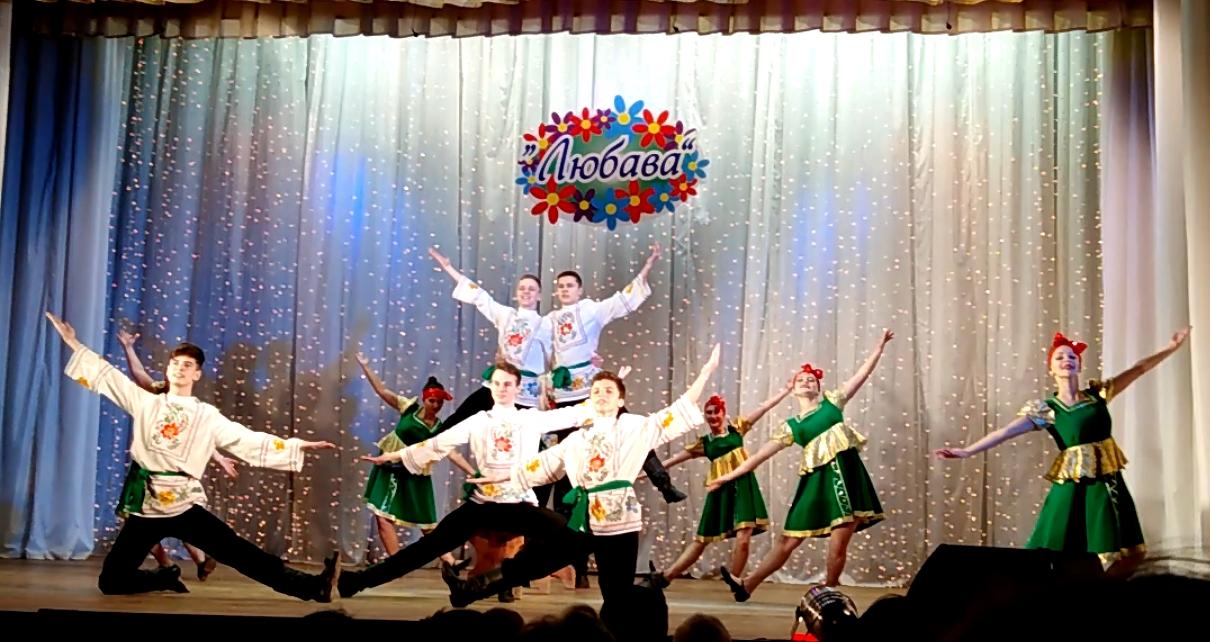 В ДК им. Чкалова состоялся отчетный концерт образцового танцевального коллектива «Любава»