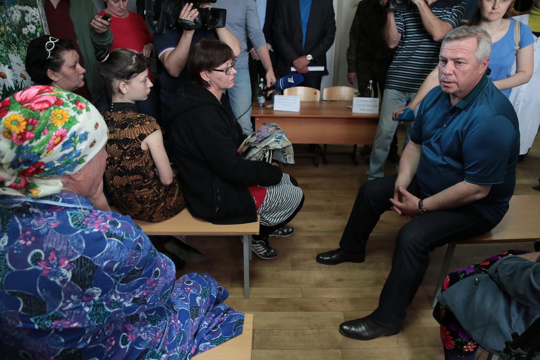 Василий Голубев выделил 4,2 млн рублей на выплаты пострадавшим от ЧС