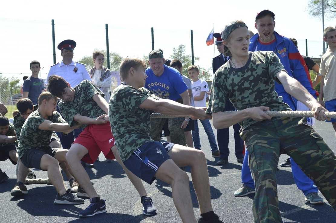 Представители казачьей молодежи приняли участие в слете «Готов к труду и обороне 2019»