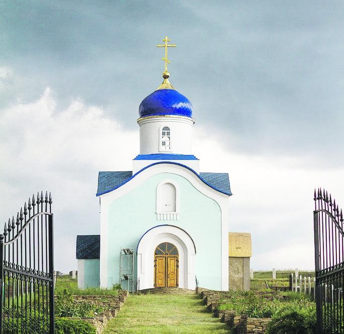 Восстановление храма завершается