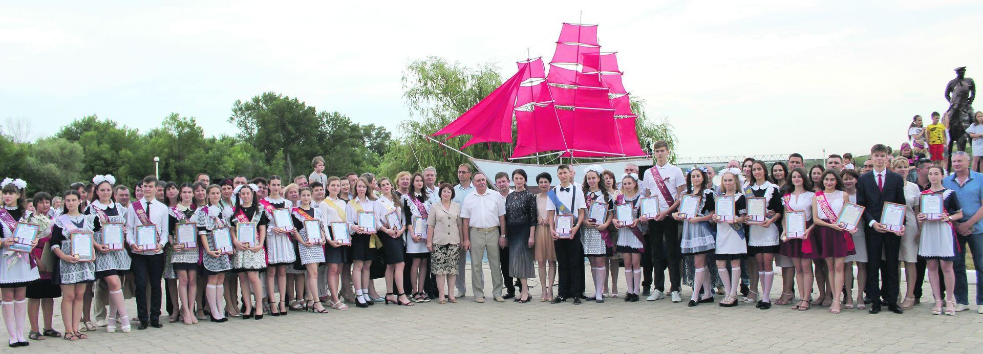 В Белой Калитве прошло праздничное мероприятие «Алые паруса»