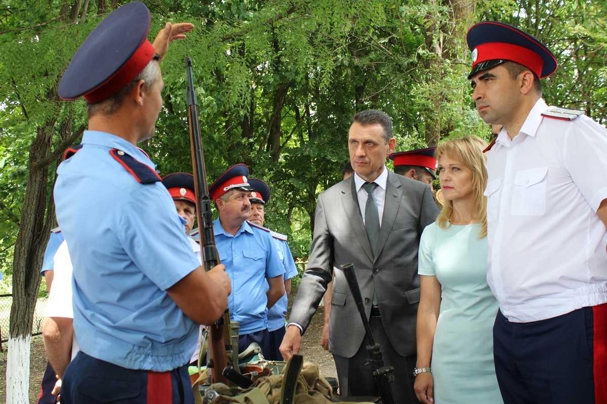 На линии бывшего Миус-фронта прошла акция «Свеча памяти»