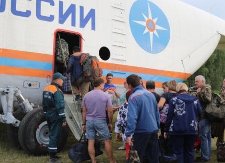 МЧС России продолжает ликвидацию последствий паводка на Дальнем Востоке