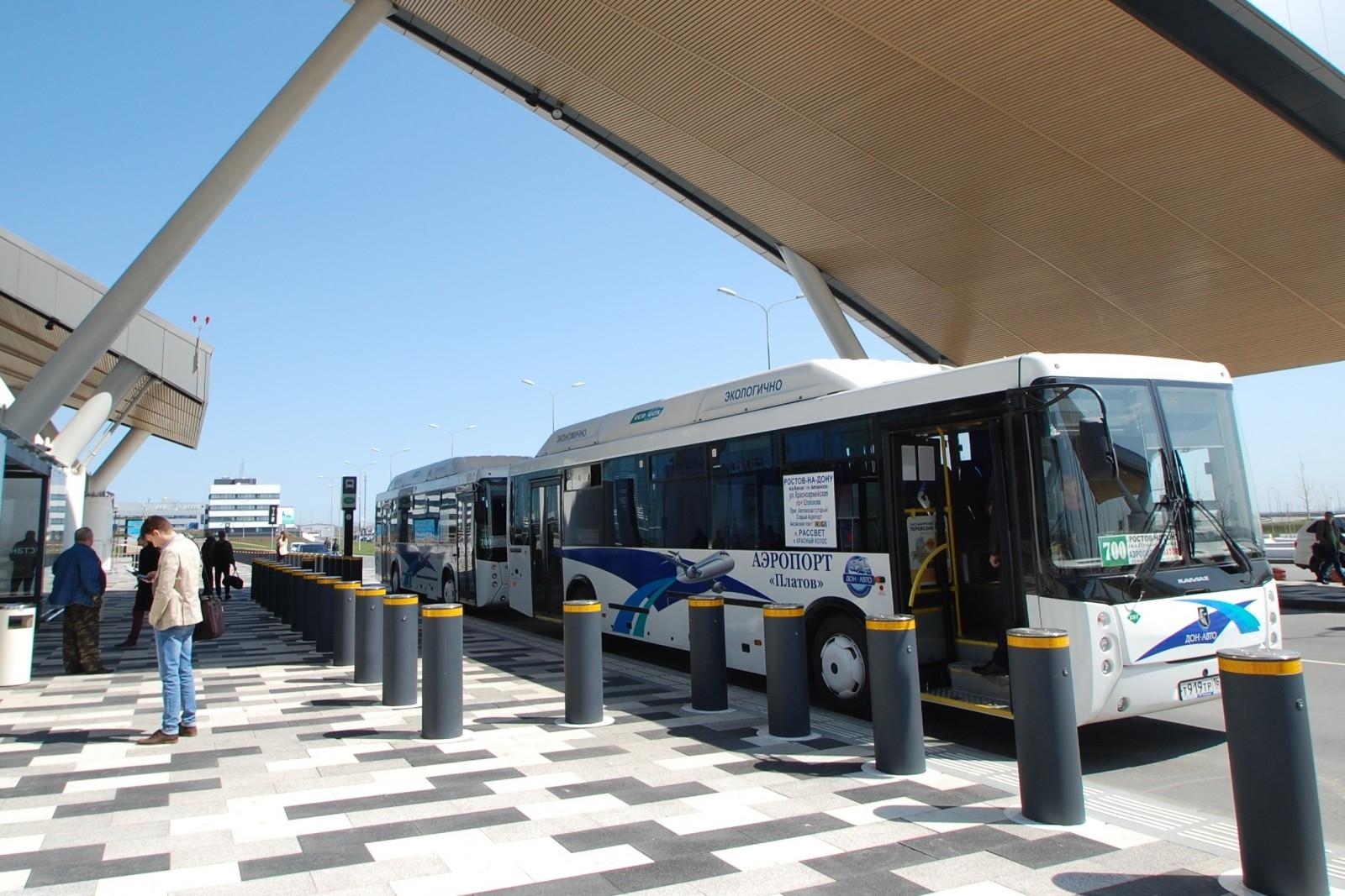 В маршрут автобуса № 700 «Ростов-на-Дону – аэропорт Платов» включена дополнительная остановка на проспекте Ворошиловском