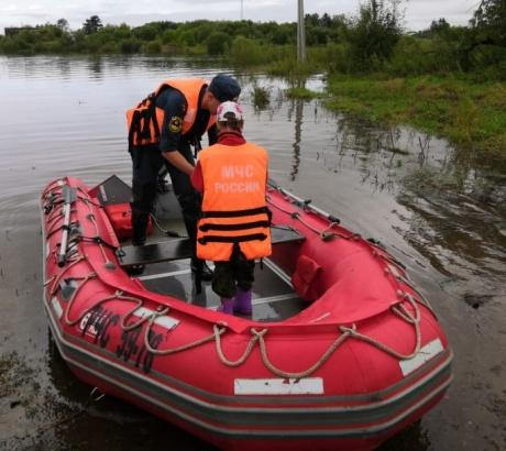 За прошедшие сутки освободились от воды 6 населенных пунктов