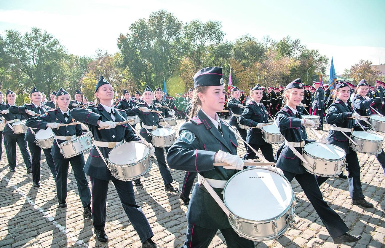 Белокалитвинский кадетский корпус занял II место по итогам  губернаторского смотра