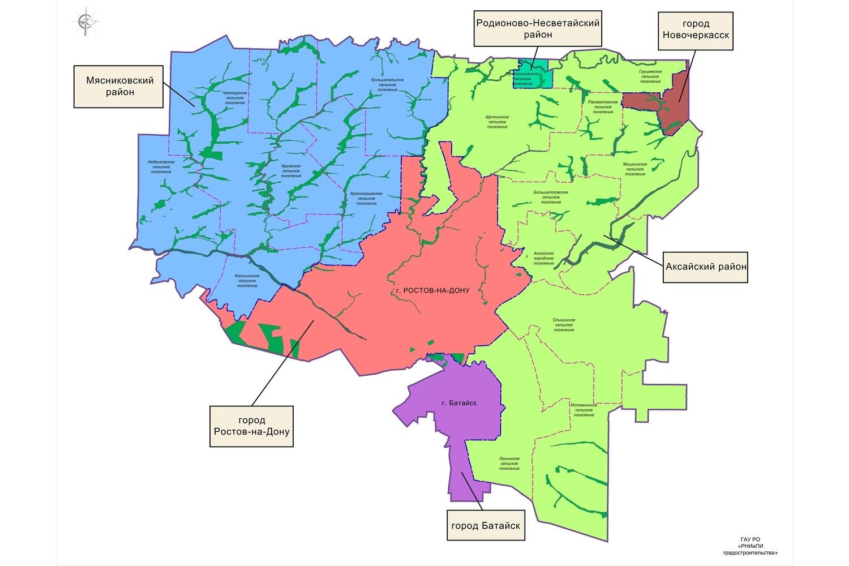 Лесопарковый зеленый пояс окольцует Большой Ростов