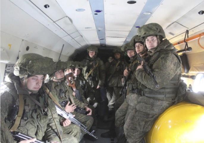 Российские десантники приняли участие в первой тренировке в рамках международного учения «Взаимодействие-2019»