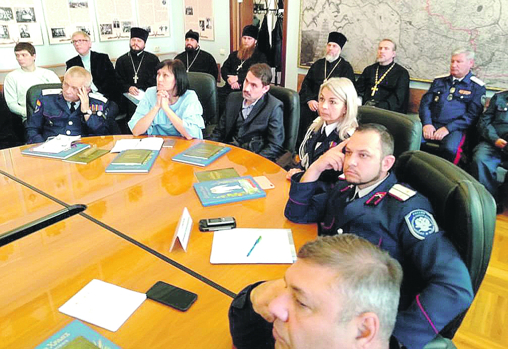 Представители Белокалитвинского казачьего кадетского профессионального техникума приняли участие в семинаре, который проходил в рамках Димитриевских чтений