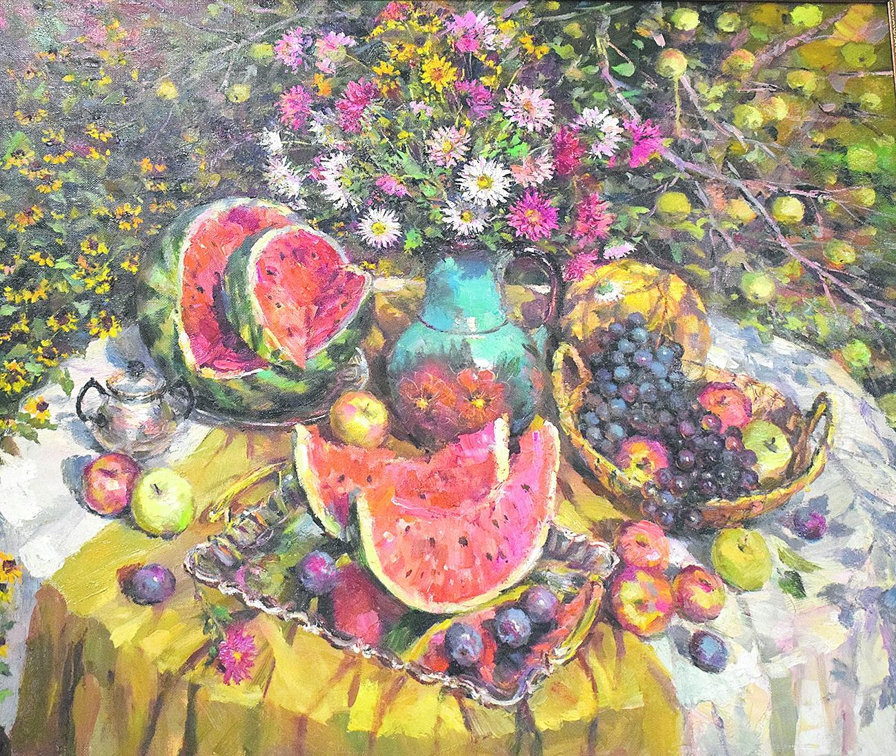 В Белой Калитве —  выставка живописных работ художника Евгения Геннадьевича Ворожцова