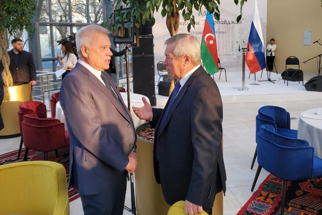 На открытие музейного комплекса «Самбекские высоты» Василий Голубев пригласил руководство Азербайджана