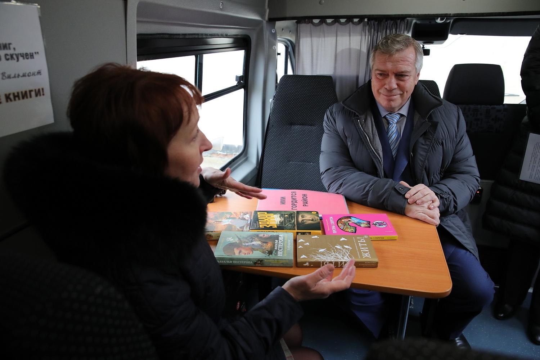 В этом году в десять районов Дона отправились новые библиобусы