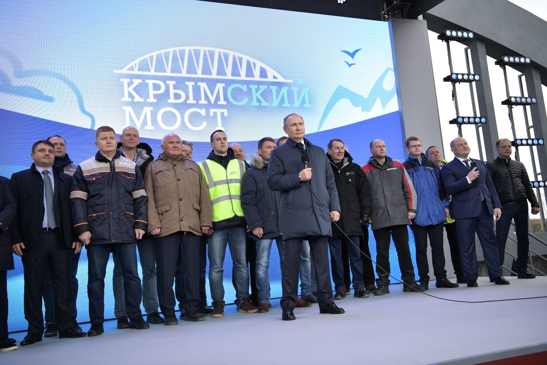 Открыто пассажирское железнодорожное движение по Крымскому мосту