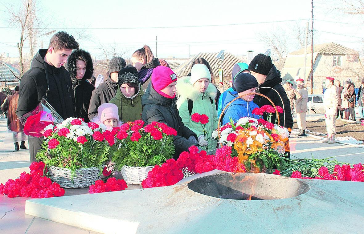 В честь 77-летия со дня освобождения Белой Калитвы от немецко-фашистских захватчиков в районе состоялся ряд праздничных мероприятий
