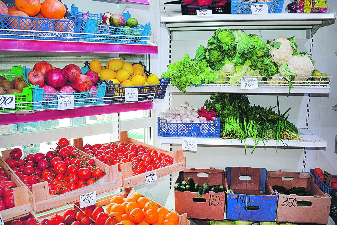 Овощи, фрукты не всем по карману