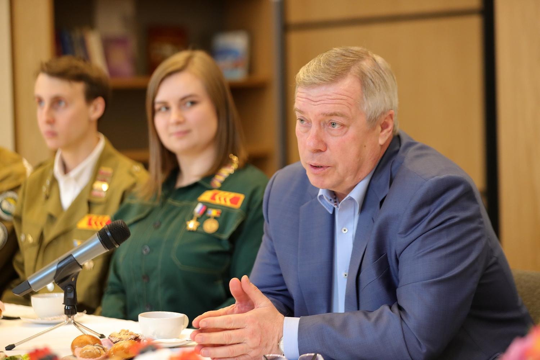 Василий Голубев: «Мы запланировали ежегодный рост финансовой поддержки студенческих отрядов»