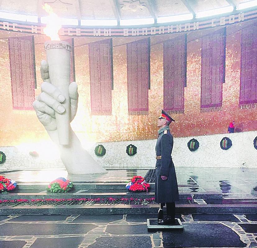 Призван на службу в город-герой Волгоград