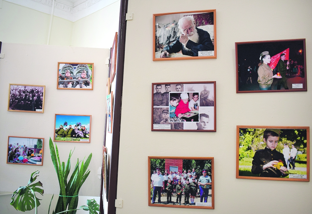 В Белой Калитве проходит фотовыставка «Праздник со слезами на глазах»