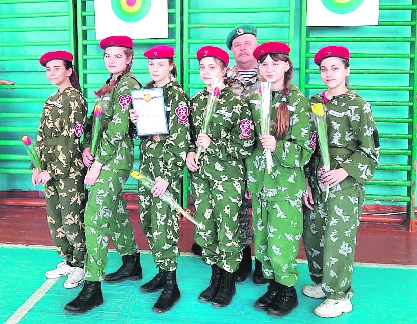 Соревнования «А ну-ка, юнармейцы-девушки!» провели среди юнармейских отрядов Белокалитвинского района