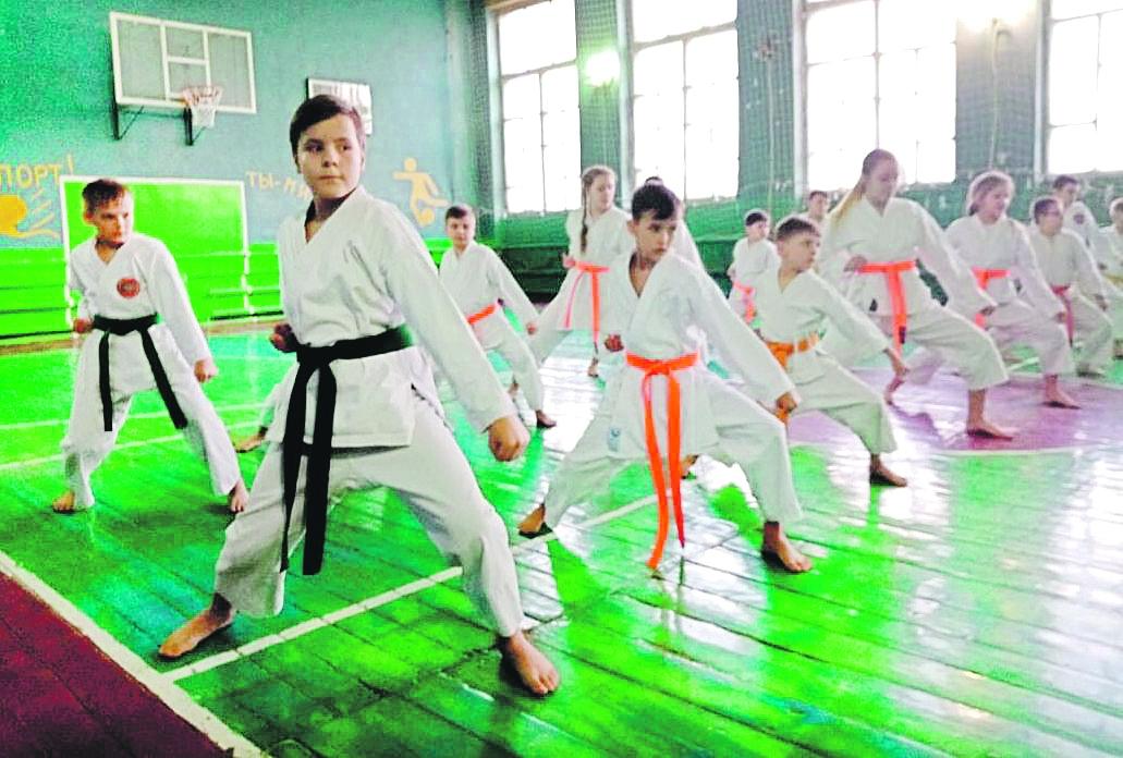 В Белой Калитве впервые за много лет прошел технический семинар по каратэ под руководством чемпиона мира и Европы Н.Н. Пискарева