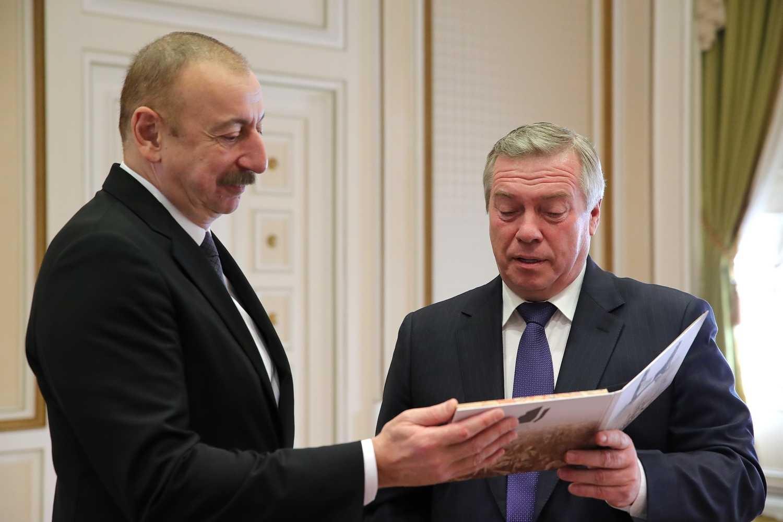 Василий Голубев рассказал президенту Азербайджана о создании музейного комплекса «Самбекские высоты»