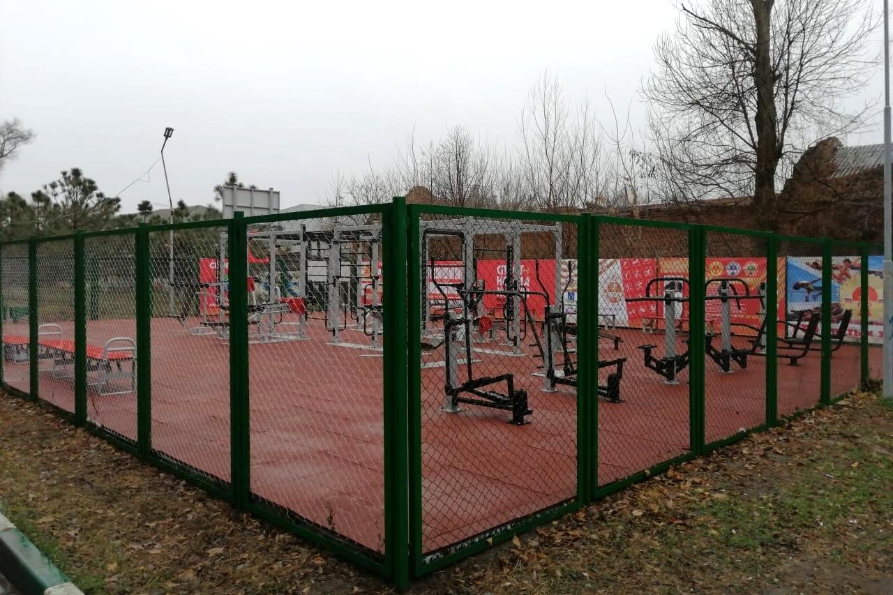 В городах и районах Дона установят 20 новых многофункциональных спортплощадок