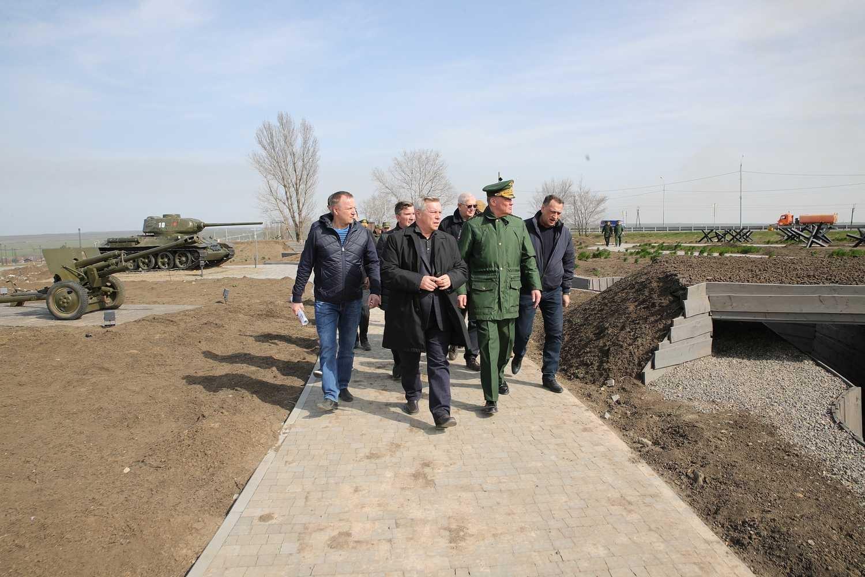 Василий Голубев: готовность музейного комплекса «Самбекские высоты» превышает 95%