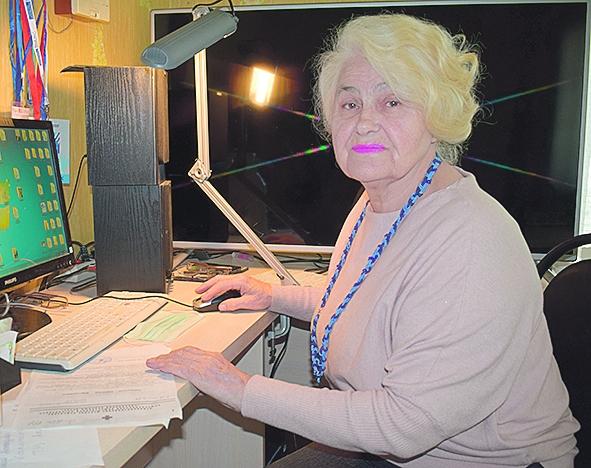 Председателю Белокалитвинской городской и районной организации «Красный Крест» Тамаре Стефановне Липовой исполнилось 80 лет