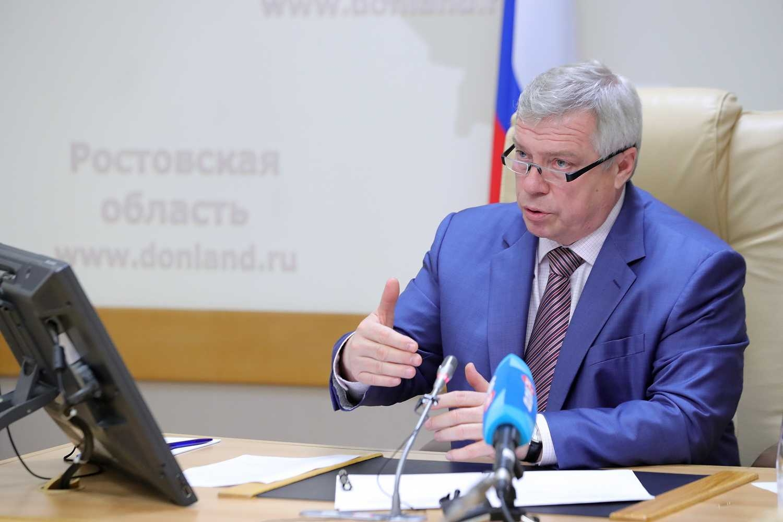 Донской губернатор взял под личный контроль вопросы получения мер поддержки