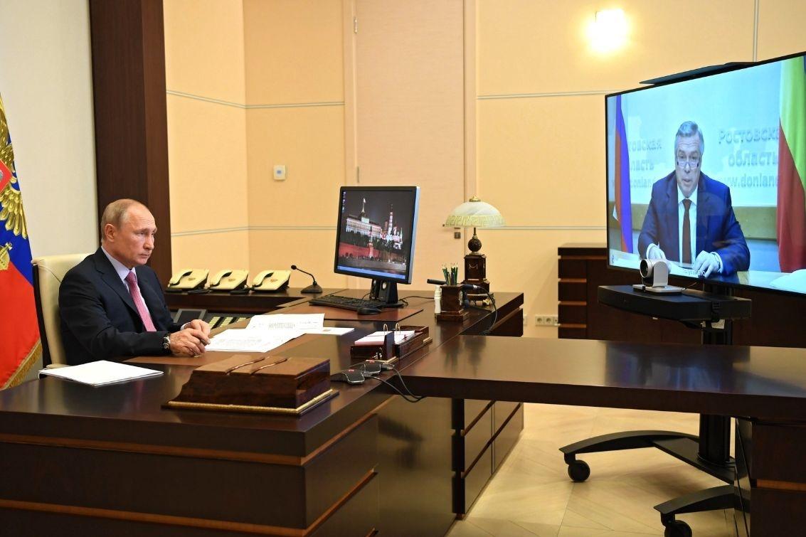Президент России поддержал выдвижение Василия Голубева на предстоящих выборах губернатора Ростовской области