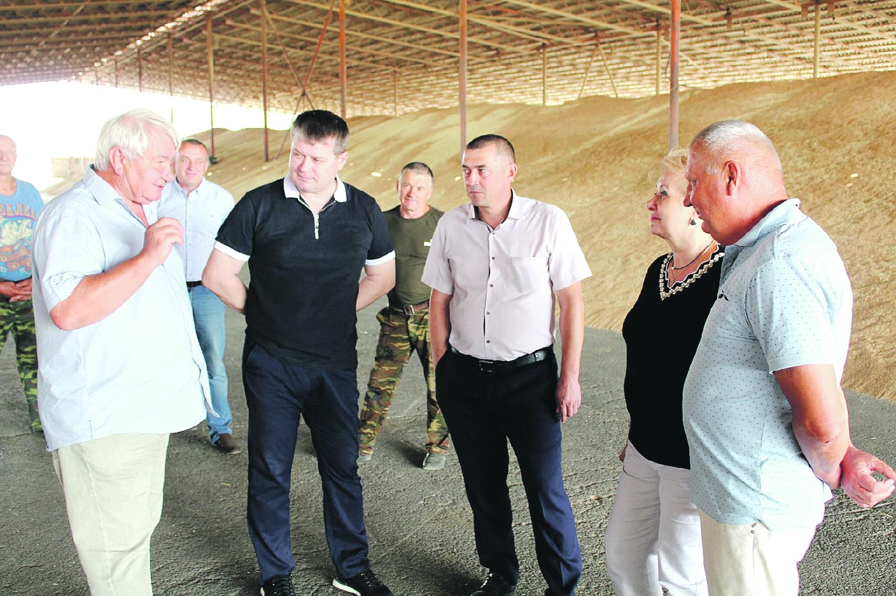 Глава администрации Белокалитвинского района О.А. Мельникова начала плановые ежегодные объезды местных аграрных предприятий