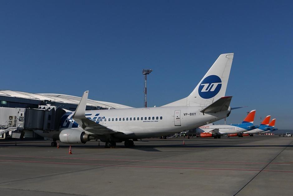 В июле увеличено количество рейсов авиакомпании Utair в Москву