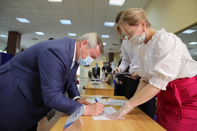 Партия «Единая Россия» выдвинула Василия Голубева кандидатом в губернаторы Ростовской области