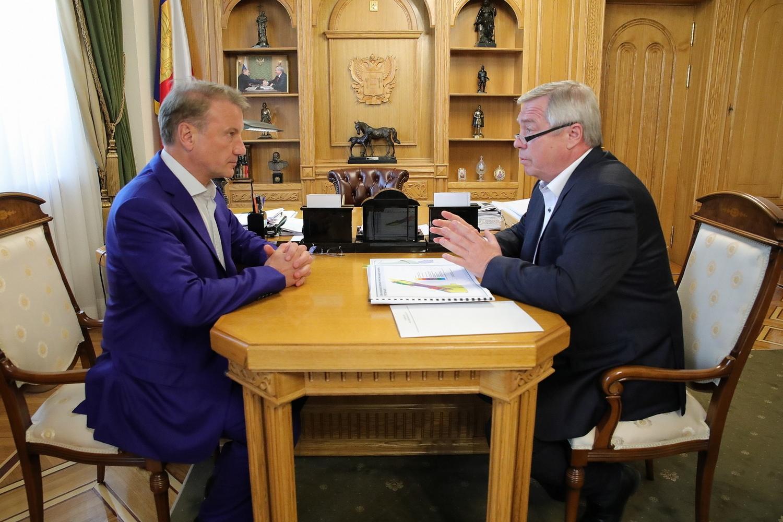 Сбербанк и правительство Ростовской области будут совместно развивать цифровые технологии