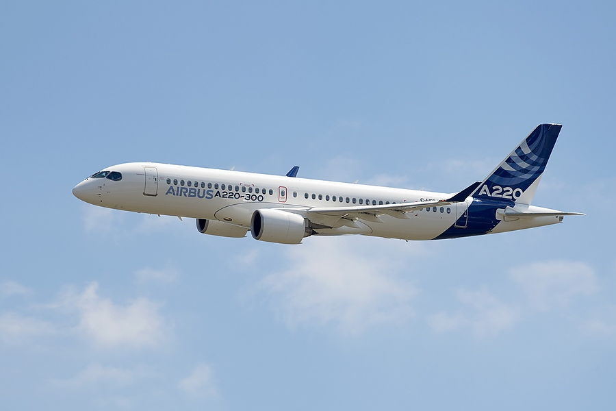 Аэропорт «Платов» получил допуск к обслуживанию самолетов Airbus А220