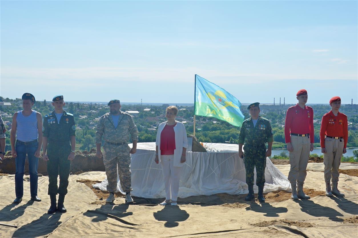 В Белокалитвинском районе будет возведен памятник воинам-десантникам