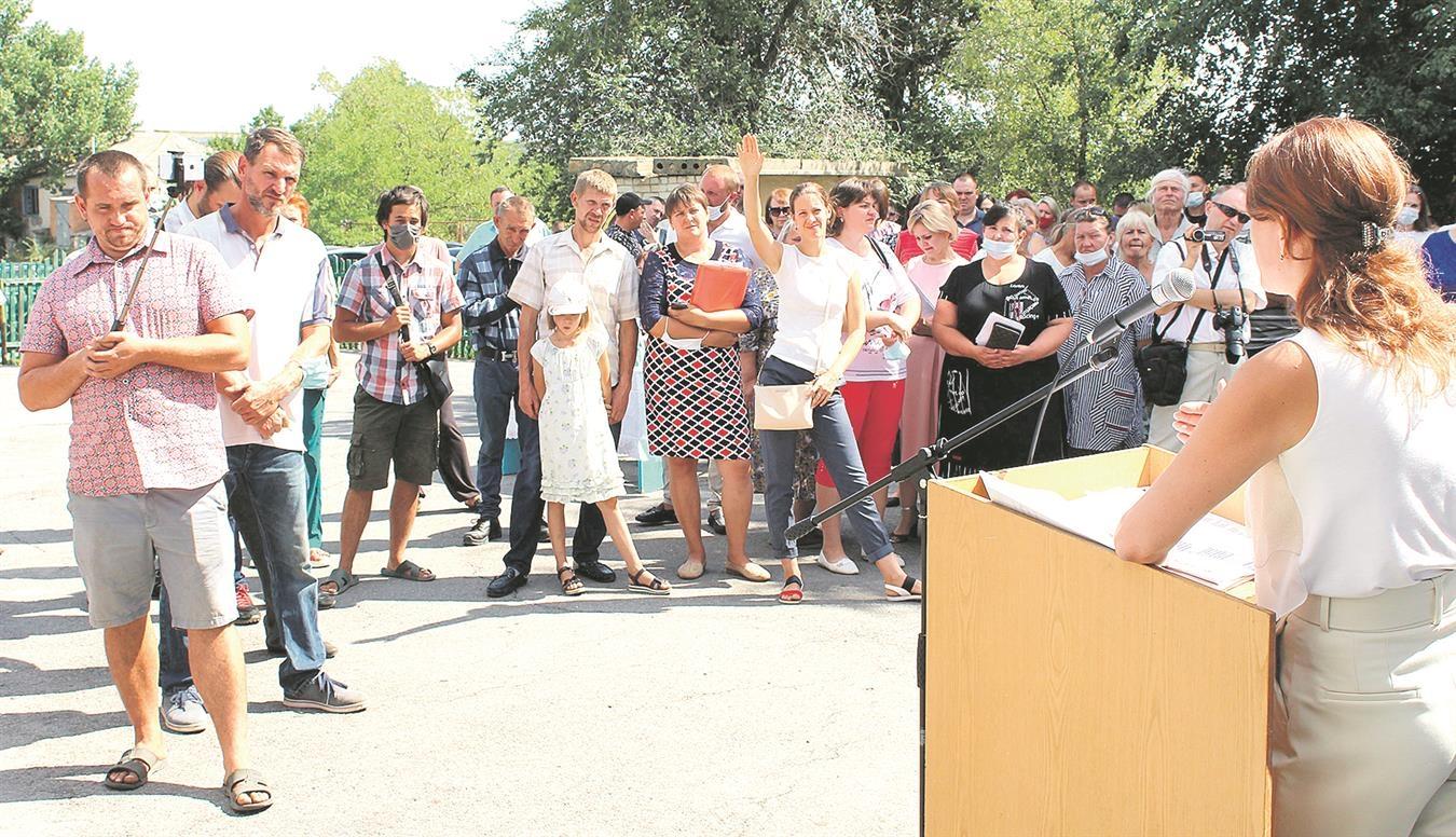 В х. Грушевка Белокалитвинского района состоялись публичные слушания