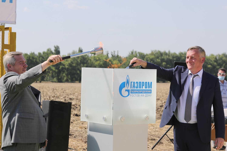 Еще три населенных пункта газифицированы в Ростовской области