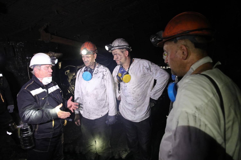 Василий Голубев: «Работа шахтеров – это героический, по-настоящему самоотверженный труд»