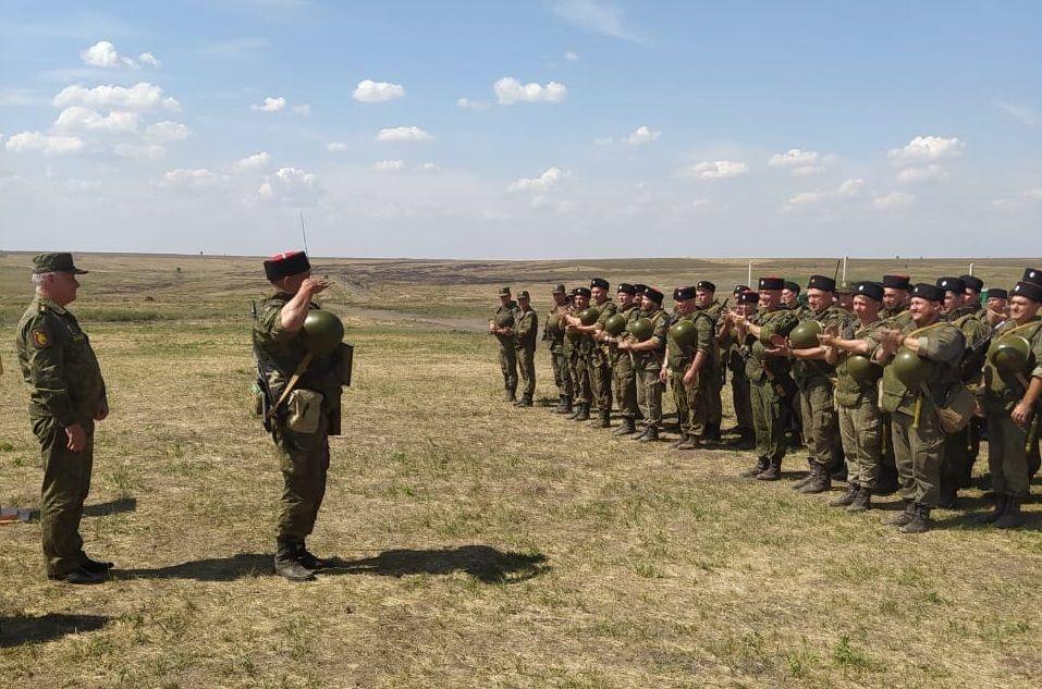 В Ростовской области прошли учения призванных из запаса резервистов