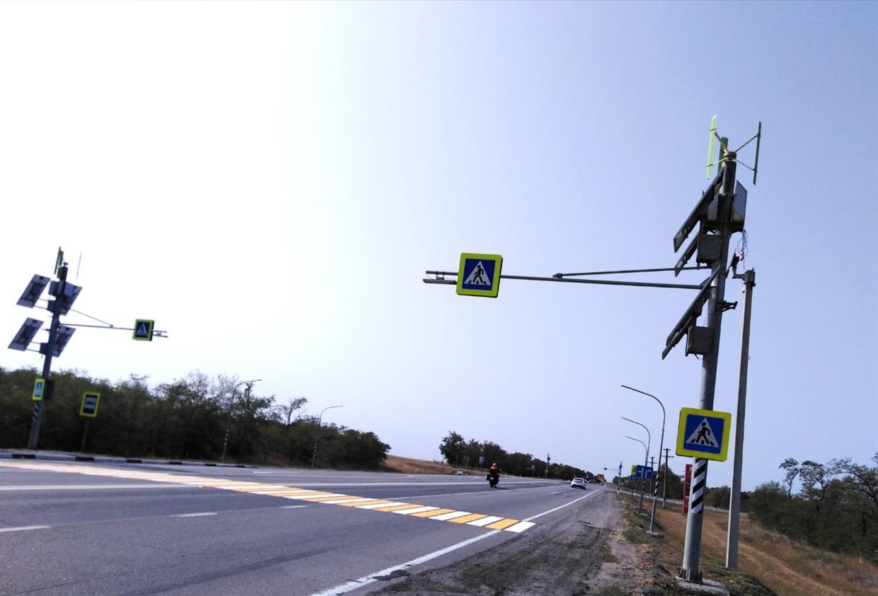 Обновлены пешеходные переходы