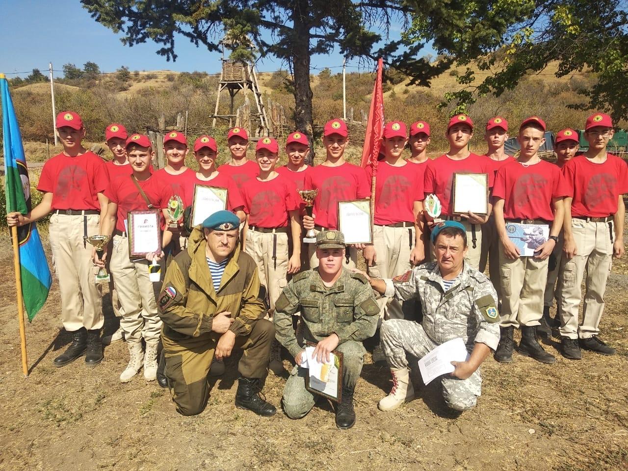 Три команды из Белокалитвинского района приняли участие в областных военно-спортивных играх