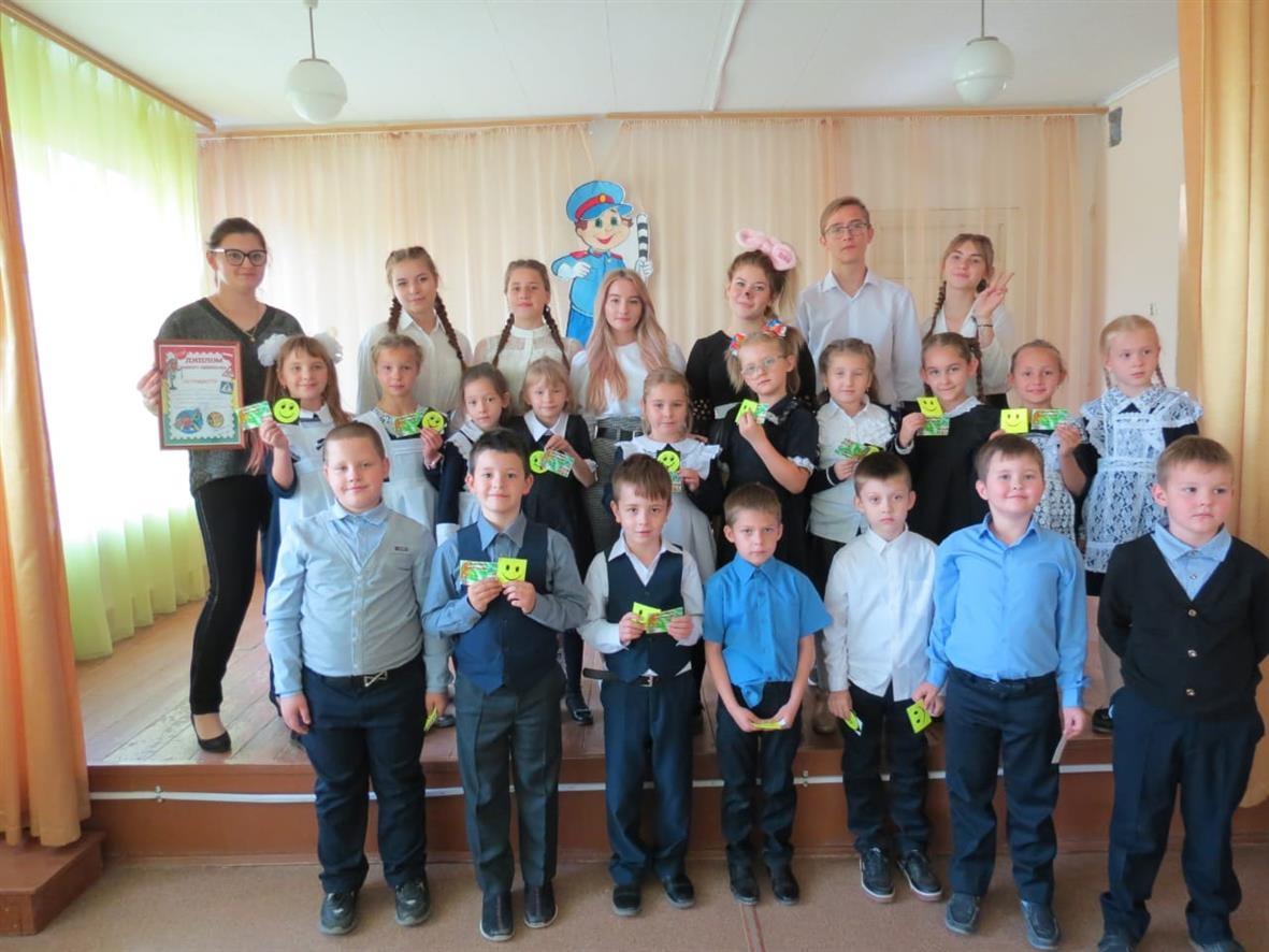 Первоклашки Белокалитвинской школы №1 посвящены в пешеходы