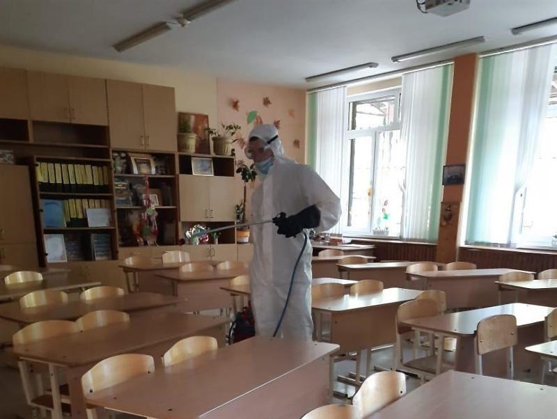 В Ростовской области продолжаются мероприятия по дезинфекции социально-значимых объектов