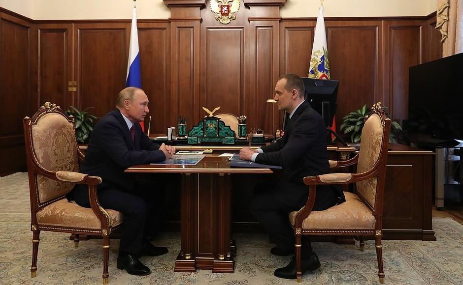 Встреча с руководителем Росреестра Олегом Скуфинским