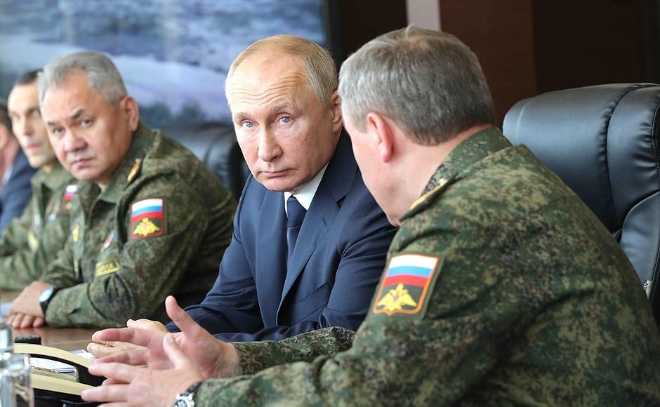 Командно-штабные учения «Кавказ-2020»